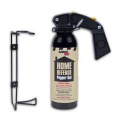 Spray autoaparare piper gel + suport 368 grame, raza actiune 7,6 metri Saber Defense
