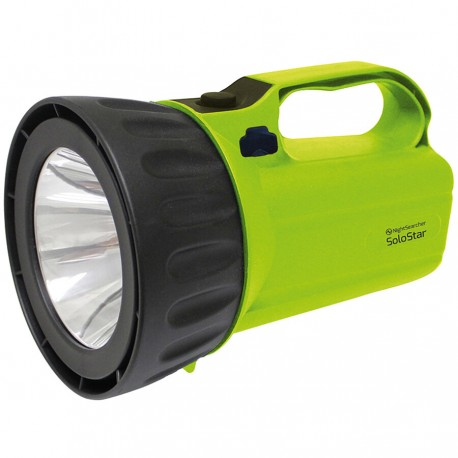 Proiector LED reincarcabil 450 lumeni Nightsearcher Solostar raza 500 metri, diametru 125 mm