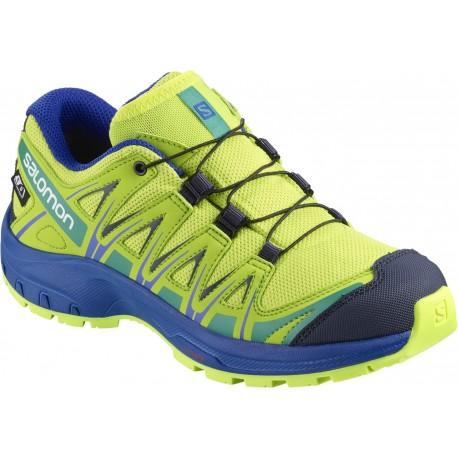 Pantofi Alergare Salomon Xa Pro 3D ClimaSalomon Waterproof Copii Galben