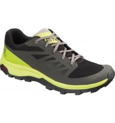 Pantofi Drumetie Salomon Outline Barbati Verde