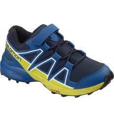 Pantofi Alergare Salomon Speedcross Bungee Copii Albastru