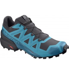 Pantofi Alergare Salomon Speedcross 5 Barbati Albastru