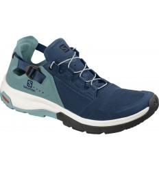 Pantofi Drumetie Salomon Techamphibian 4 Femei Albastru