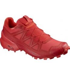 Pantofi Alergare Salomon Speedcross 5 Barbati Rosu
