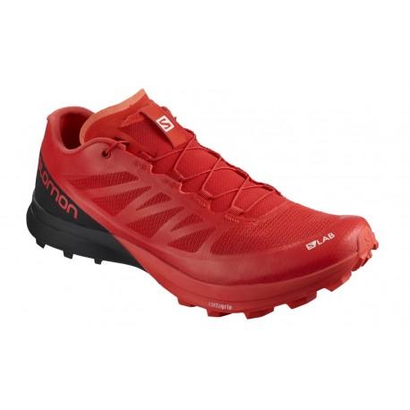 Pantofi Alergare Salomon S/Lab Sense 7 SG Barbati Rosu