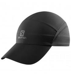 Sapca Alergare Salomon Cap Xa Cap cu protectie solara UPF 50 Neagra