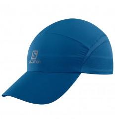Sapca Alergare Salomon Cap Xa Cap cu protectie solara UPF 50 Bleumarin