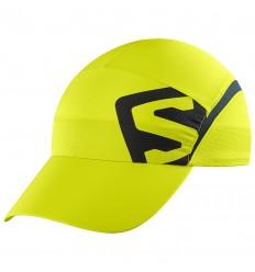 Sapca Alergare Salomon Cap Xa Cap cu protectie solara UPF 50 Verde