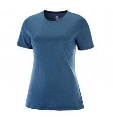 Tricou Alergare Salomon Comet Classic Tee Femei Albastru
