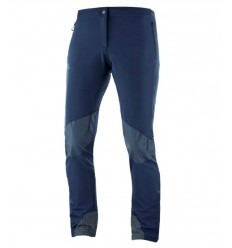 Pantaloni Drumetie Salomon Wayfarer Mountain Pant Femei Bleumarin