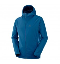 Geaca Drumetie Salomon Essential Jacket Barbati Albastru