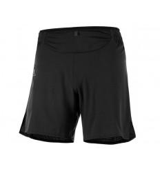 Pantaloni Alergare Salomon Sense Short Barbati Negru
