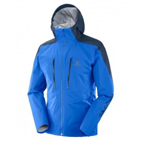 Geaca Drumetie Salomon Outspeed 3L Jacket Barbati Albastru