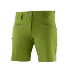 Pantaloni Drumetie Salomon Wayfarer Short Femei Verde