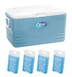 Set lada frigorifica Coleman Xtreme 48 litri cu 4 pastile racire M10