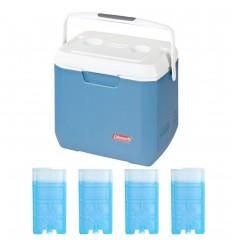 Set lada frigorifica Coleman Xtreme 26 litri cu 4 pastile racire M5
