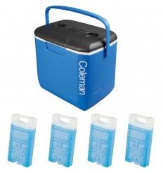 Set lada frigorifica Coleman Performance 28 litri cu 4 pastile de racire M10