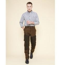 Pantaloni vanatoare iarna Aigle Huntino olive