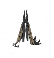 Multitool Leatherman Signal Coyote Tan Limited Edition, 19 functii, cu teaca