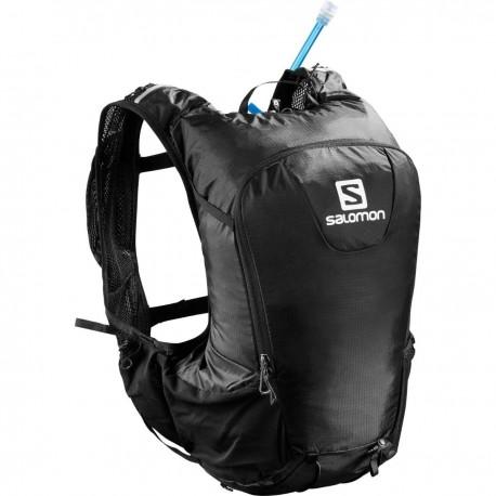 Rucsac trailrunning unisex Salomon Skin Pro 15 litri, 297 grame, cu sistem hidratare inclus