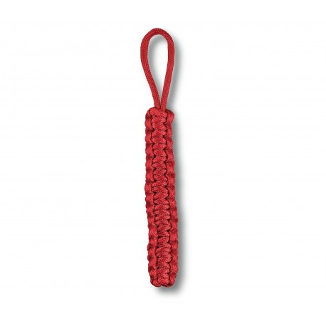 Paracord Victorinox rosu, 160 cm lungime, 3 mm grosime, max 190 kg