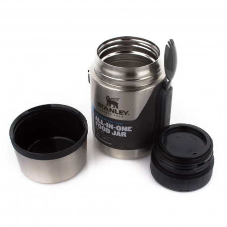 Set termos mancare 0.5 litri cu lingura si furculita Stanley Food Jar