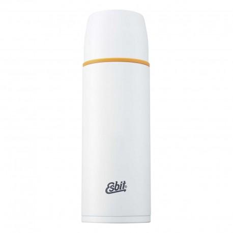 Termos 1 litru Esbit alb, inoxidabil, cu perete dublu