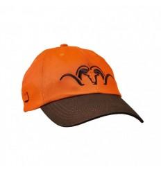Sapca Blaser portocaliu - maro cu logo