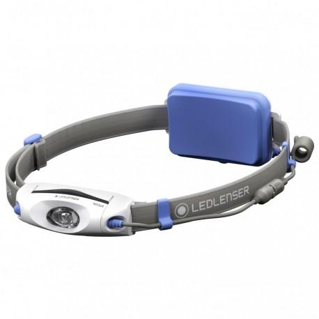 Lanterna frontala reincarcabila Led Lenser NEO6R albastra, 240 lumeni