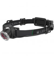 Lanterna frontala reincarcabila USB Led Lenser MH10, 600 lumeni, cu husa si 2 filtre