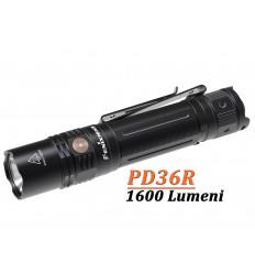 Lanterna Fenix PD36R reincarcabila USB C, 1600 lumeni, 283 metri
