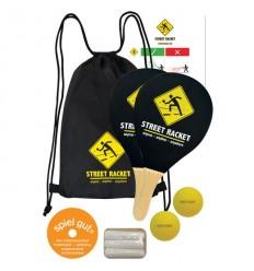 Set palete din lemn Street Racket Schildkrot - 970115