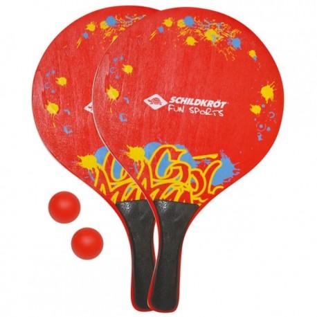 Set 2 palete tenis pentru plaja XL Schildkrot - 970152