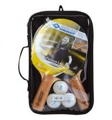 Palete tenis de masa - set premium 2 palete cu 3 mingi Donic Persson 500