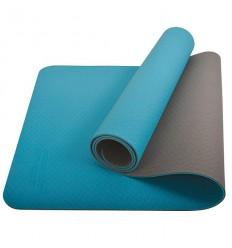 Saltea pentru yoga bicolora albastru/antracit Schildkrot