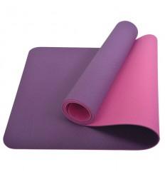 Saltea pentru yoga bicolora mov/roz Schildkrot - 960069