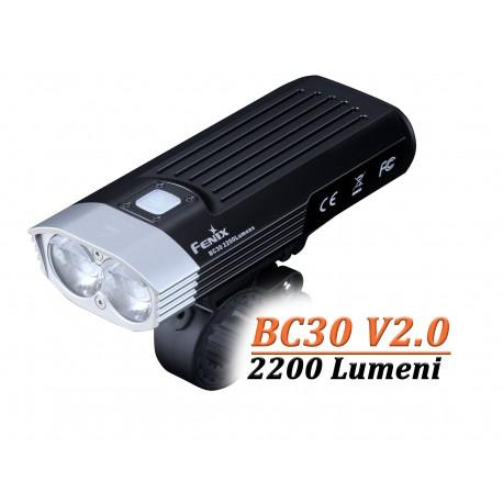 Lanterna bicicleta Fenix BC30 V2.0, 2200 lumeni, 187 metri