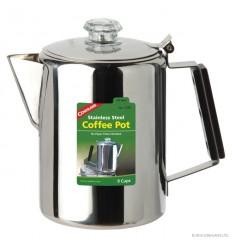 Cafetiera inoxidabila cu filtru de percolare Coghlans - 9 cani
