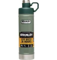 Bidon 0.75 litri inoxidabil Stanley, verde