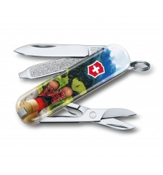 Briceag Victorinox Classic, 58 mm, I Love Hiking