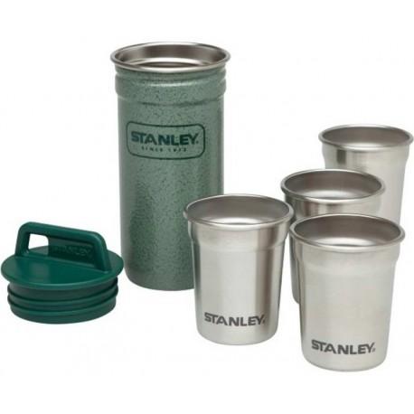 Set pahare shot 0.59 ml, inoxidabile Stanley, verde, 4 buc / set
