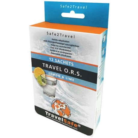 Saruri de rehidratare Travelsafe O.R.S. TS53, set 12 plicuri