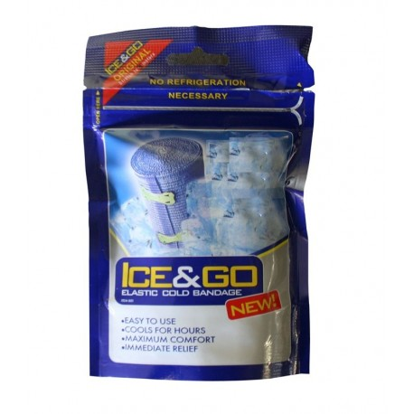 Bandaj elastic Ice & Go cu alcool BCB