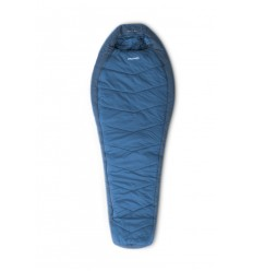 Sac de dormit Pinguin Mistral PFM, +3 /-3 /-19 °C, 1.6 Kg, albastru