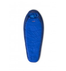 Sac de dormit copii Pinguin Comfort Junior PFM, -1/-7/-24°C, 1,35 Kg, albastru