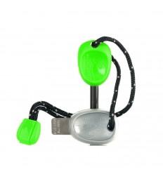 Amnar magneziu Light My Fire Scout verde fluorescent, 7,7 cm, 29 grame