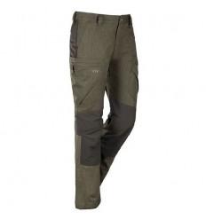 Pantaloni impermeabili Blaser Hybrid Quirin moss melange