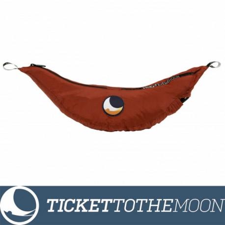 Hamac Ticket to the Moon Single Compact Burgundy 320 × 155 cm, 500 grame