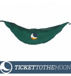 Hamac Ticket to the Moon Single Compact Forest Green 320 × 155 cm, 500 grame