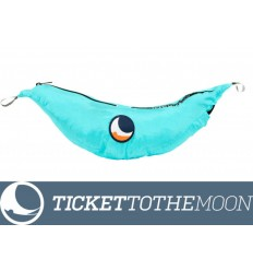Hamac Ticket to the Moon Single Compact Turquoise 320 × 155 cm, 500 grame